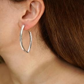 Earings silver 925 rhodium plated - Funky Metal