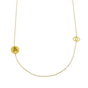 Necklace gold K14 carats - My Gold