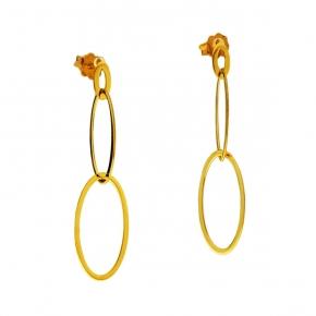 Earrings gold K14 - My Gold