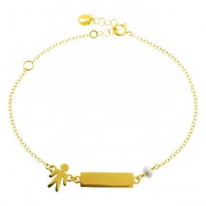 Bracelet gold K14 - My Gold