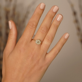 Ring gold K14 - My Gold