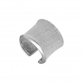 Ring Silver 925 rhodium plated