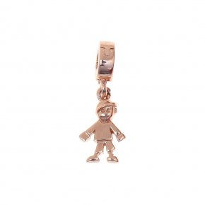Pendant Silver 925 pink gold plated