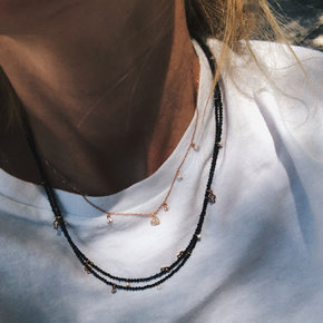 Symbola necklace layering